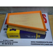 FILTRO AIRECITROEN XSAR CUPE 2,0 HDI 98-2005 REF MAN C27124/1