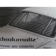 PERSIANA DESLUMATIZ SIMCA 1200 COLOR NEGRO