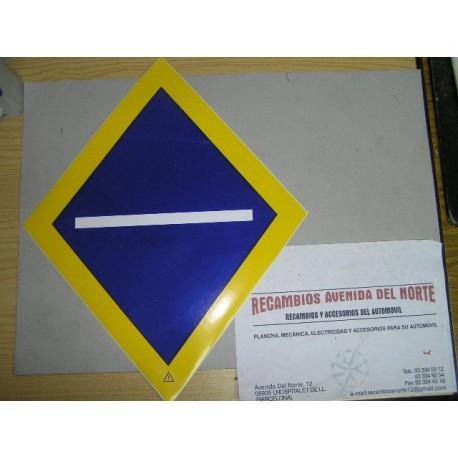 ADHESIVO CLASICO TRANSPORTE NACIONAL SP CAMION