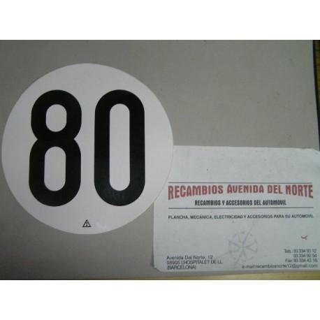 ADHESIVO CLASICO 80 CAMION