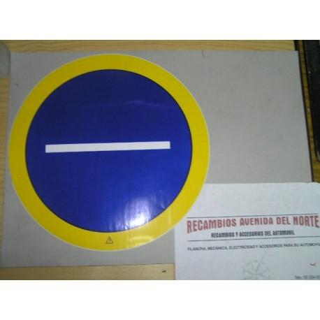 ADHESIVO CLASICO TRANSPORTE COMARCAL LIGERO SERVICIO PUBLICO CAMION