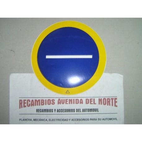 ADHESIVO CLASICO TRANSPORTE COMARCAL LIGERO SERVICIO PUBLICO FURGONETA