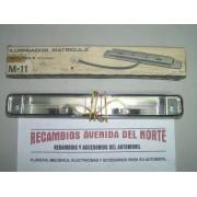 LUZ DE MATRICULA SEAT 124 FL