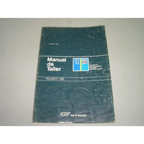 MANUAL DE TALLER PEUGEOT 309 GUIA DE TASACIONES