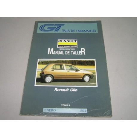 MANUAL DE TALLER RENAULT CLIO TOMO 2 GUIA DE TASACIONES