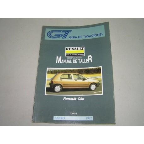MANUAL DE TALLER RENAULT CLIO TOMO 1 GUIA DE TASACIONES