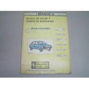* MANUAL DE TALLER RENAULT 14 TOMO 2 GUIA DE TASACIONES