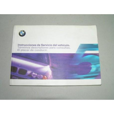 * MANUAL USUARIO BMW SERIE 5 AÑO EDICION 1998
