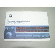 * MANUAL BMW SISTEMA RADIO PROFESSIONAL, BUSSINES Y BUSSINES CD EDICION 1998