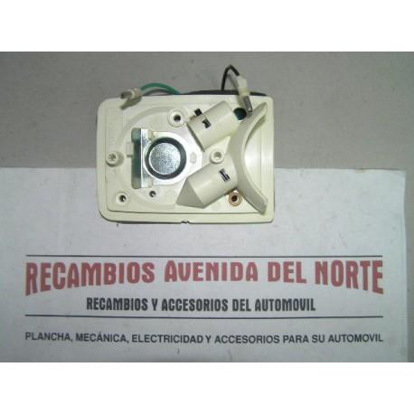 CARCASA LUZ MATRICULA IZQUIERDA Y MARCHA ATRAS RENAULT 4 F6, RENAULT 5 Y R12 FAMILIAR