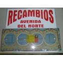 JUNTA DE CULATA SEAT 131 SOFIM 2500 DIESEL ESPESOR 2,00 MM