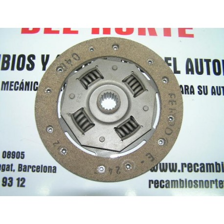 DISCO EMBRAGUE FORD FIESTA 0.9 Y 1.1 (1976-1983)