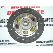DISCO EMBRAGUE VALEO 692129 SEAT IBIZA 1.7D, MALAGA 1.7D, RONDA 1.7D, RITMO 1.7D, FIAT REGATA 1.7D