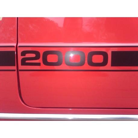 KIT BANDA LATERAL PARA SEAT 124 ó 1430