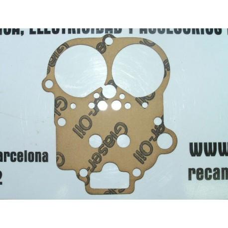 JUNTA TAPA CARBURADOR SEAT 124 Y 1430 WEBER REF: 30055