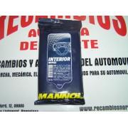 TOALLITAS LIMPIADORAS DE INTERIOR MANNOL