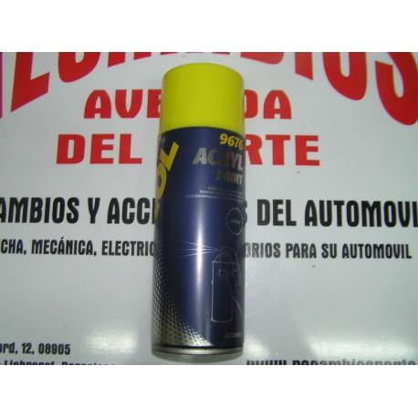 PINTURA ACRILICA PLATA AUTOMOCIÓN MANNOL 9676