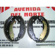 KIT MORDAZAS TRASERAS PEUGEOT 205 GTI, 309, RENAULT 9, 11, SUPERCINCO, EXPRESS FRENOS GIRLING