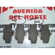 JUEGO PASTILLAS DE FRENO PEUGEOT, RENAULT ROAD HOUSE 2141.32 FERODO FDB845B FRENOS GIRLING