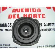 SOPORTE SILENTBLOCK AMORTIGUADOR DELANTERO RENAULT 21 TXE Y D DESDE 1991 METALCAUCHO 00968 - REF. ORIG. RENAULT 7700795187