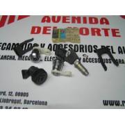 CONJUNTO BOMBINES CON LLAVE CERRADURAS PUERTAS Y GUANTERA SIMCA 1200
