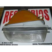 OPTICA FARO DELANTERA DERECHA H-4 CON REGULACION RENAULT 14 REF. VALEO 061760