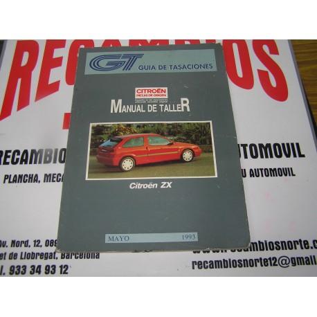 manual de taller citroen zx guia de tasaciones mayo 1993 rh recambiosnorte com manual de taller citroen zx 1.9d manual taller citroen zx