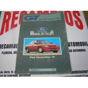 MANUAL DE TALLER FORD ESCORT-ORION-91 GUIA DE TASACIONES FEBRERO-1992