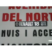 ANAGRAMA TRASERO RENAULT 18 GTL