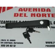 MANETA PUERTA DELANTERA IZQUIERDA CON LLAVE SEAT IBIZA (89-93), REF, 021521600B