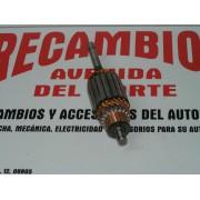 INDUCIDO MOTOR DE ARRANQUE RENAULT 5 TURBO, FIAT X1/9, BMW 45, 60, 65 Y 75 - REF BOSCH 2004011032