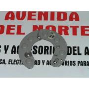 PLACA PORTA DIODOS ALTERNADOR RENAULT 5, 6, 7, RODEO, PEUGEOT 204, 304, 504 - REF FEMSA 28466/7