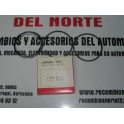 JUEGO DE SEGMENTOS DOS COMPRESION Y UNO ACEITE CITROEN 2CV AZ AZUREF PERFECT CIRCLE