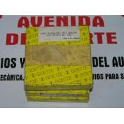 JUEGO DE SEGMENTOS PARA CUATRO PISTONES TALBOT HORIZON SIMCA 1000 Y 1200 REF GOETZE 01-344500-00