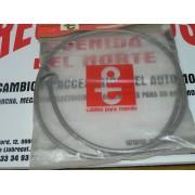 CABLE Y FUNDA CUENTA KILÓMETROS RENAULT 6 REF RENAULT 77002003879 Y PT 801578