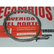 CABLE Y FUNDA CUENTA KILOMETROS RENAULT 4 SUPER REF RENAULT 7700587587 Y PT 802242