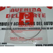 CABLE ACELERADOR SIN FUNDA SIMCA 1200 ESPECIAL REF ORG-4040131546 Y PT 2649