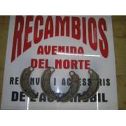 JUEGO DE MORDAZAS FRENO SEAT 1400-1500
