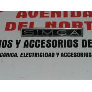 ANAGRAMA SIMCA METALICO SIMCA 1000 Y 1200