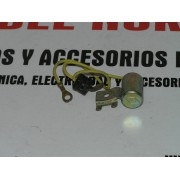CONDENSADOR DELCO BOSCH SEAT 124 D LS Y ESPECIAL DESDE EL 69 REF KONTACT 3503