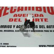 BOMBIN CON DOS LLAVES CERRAURA PUERTA DELANTERA IZQUIERDA RENAULT 19 REF ORG, 256603
