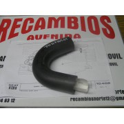 TUBO MANGUITO SUPERIOR RADIADOR A PIPA DE AGUA SEAT 131 REF ORG, JD 11720501