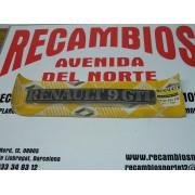 ANAGRAMA TRASERO RENAULT 9GTL REF ORG, 7700704532