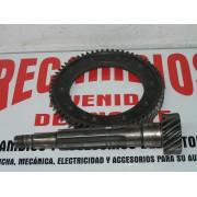 CONJUNTO CORONA Y PIÑON DIFERENCIAL SIMCA 1200 REF ORG. SG51851030