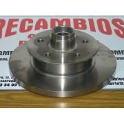 DOS DISCOS DE FRENO DELANTEROS VW TRANSPORTER III REF BREMBO 08517720