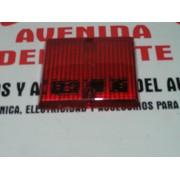 PLASTICO ROJO TRASERO IZQUIERDO SEAT 132