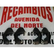 MASCOTAS DE GOMA (4) PARA PARAGOLPES DE GOMA SEAT 131 1º. SERIE