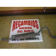 SILENCIOSO TRASERO SEAT 131 1º, SERIE MOTORES 1430-1600 REF FONOS 1077