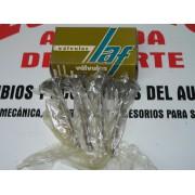 JUEGO DE 4 VALVULAS ADMISION RENAULT 5-6-8-12 REF LAF 2305 AD