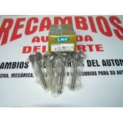JUEGO DE 4 VALVULAS DE ADMISION RENAULT 5-6-8-12 DESDE 1970 REF LAF 2869